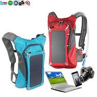 太阳能背包 Solar bag solar backpack