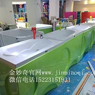 重庆婴儿游泳馆加盟金妙奇婴儿游泳设备上新款婴儿游泳池洗澡盆