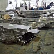 波浪形铝板铝方通