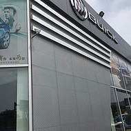 别克4s店外墙冲孔铝单板