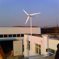 猪场用风力发电机20kw采用PLC 远程监控触摸屏 自动化