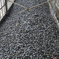 黑色鹅卵石_3-5公分黑色鹅卵石价格_渝荣顺厂家提供!