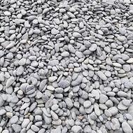 灰色鹅卵石_5-8公分天然灰色鹅卵石价格_渝荣顺厂家!