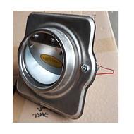 不锈钢导流式防火烟道止回阀卫生间排气道换气扇止逆阀