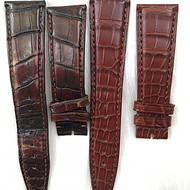 万国 IWC葡萄牙鳄鱼皮表带 万国原装表复刻版鳄鱼皮表带