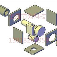 进口UL1709防火罩可拆卸执行器防火罩1709认证防火罩被动防火