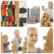 儿童玩具 软木积木 选欣博佳厂家订做 天然环保
