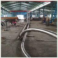 云南管链输送机 防尘 环型管链机
