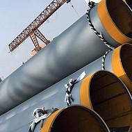 供排水3pe大口径防腐钢管环氧煤沥青防腐管道