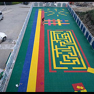 上海弹性垫拼装地板生产厂家湘冠品牌质量好