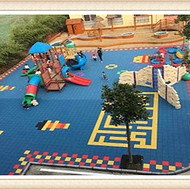 广东软垫弹性拼装地板厂家湘冠品牌质量好
