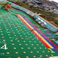 河北湘冠达州塑胶球场厂家四川(欢迎您)