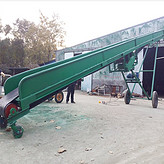斜坡带式输送机生产厂家 斜坡皮带输送机
