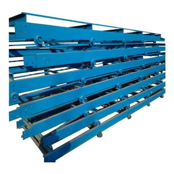 塑料链板输送机厂家推荐 链板输送机综述石头输送机