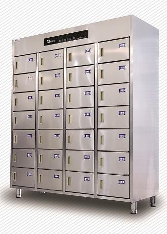 热风循环智能28门消毒柜ZNDM-28