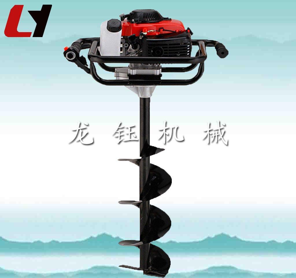 加工定制多用途钻眼机 高效汽油便携式挖坑机