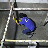 西安楼顶渗漏水防水维修找鸿飞西安防水堵漏服务中心实体店面专业资质西安防水公司
