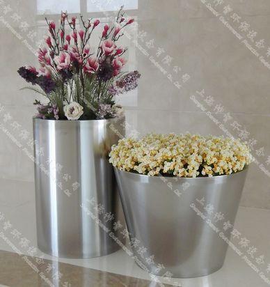 不锈钢花盆 (8)