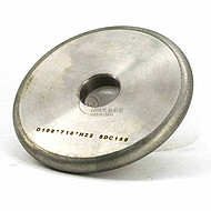 1F1平行带弧电镀金刚石/CBN砂轮 R1/R2/R3/R4/R5 磨圆槽R角砂轮 100D*10T*22H*5R*3X