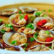 半壳贝 酒店特色菜系列海鲜贝dd3376