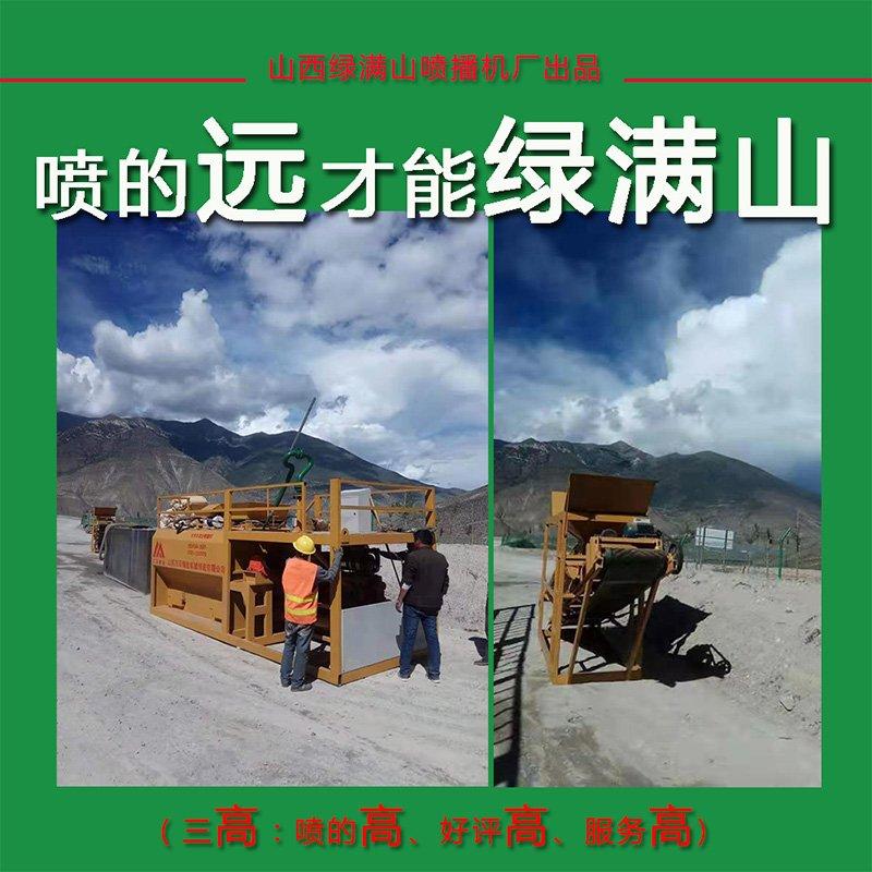內江萬澤錦達高速公路110米邊坡客土邊坡綠化