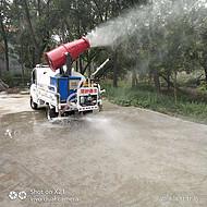 新能源电动三轮雾炮洒水车 小型建筑工地降尘雾炮车品质保证
