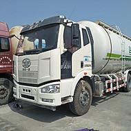供应砂浆运输车解放砂浆罐车18年国五原版车况公里数5万包过户可分期
