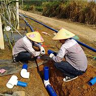 广西的地形地貌要怎么利用滴灌水肥一体化设备