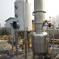 二手蒸发器处理 二手2吨单效浓缩蒸发器报价