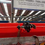 16吨手动单梁起重机 手动桁吊 手动行车