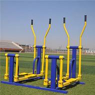 晶康牌小区健身路径器材 双位平步机 做工精细品质保障