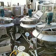供应二手100升-1000升电加热夹层锅 600升蒸汽夹层锅
