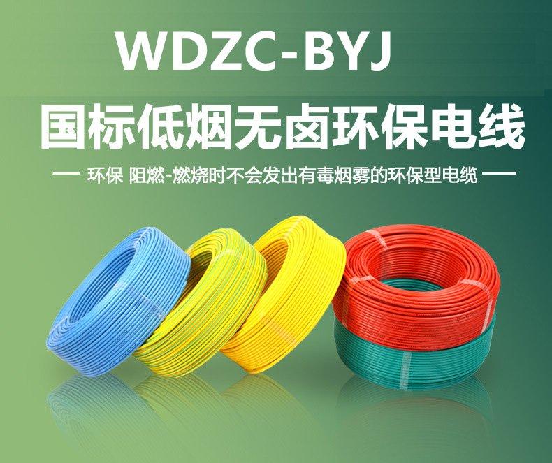 WDZC-BYJ低烟无卤阻燃硬电线 (10)