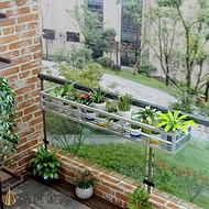 广东惠州定制阳台不锈钢花架