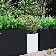 惠州室外不锈钢种植池  定制不锈钢花池 不锈钢花箱施工图 广州不锈钢花盆图片