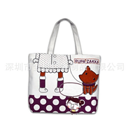 深圳亚搏app下载安装定制帆布袋新款纯棉包生产手提袋单肩包购物袋定做加工印LOGO