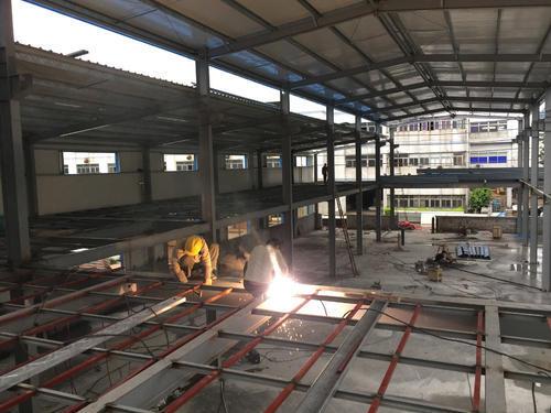 钢结构阁楼工程,钢结构隔层建设,钢结构加层施工,钢结构夹层 (70)