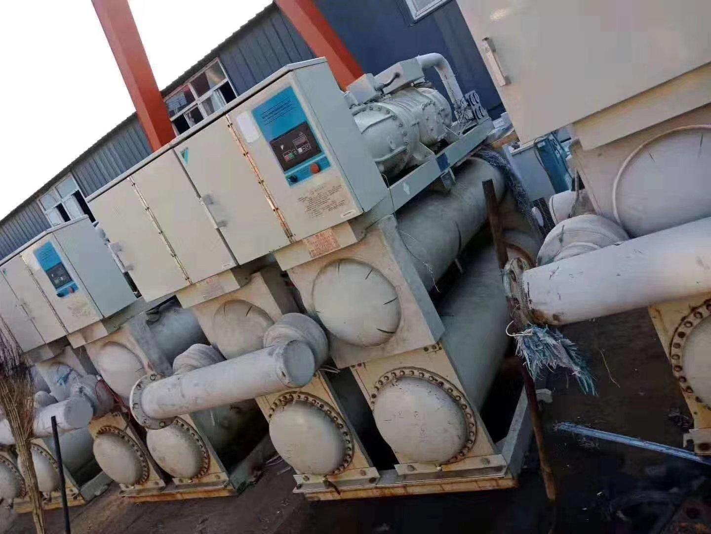 上海开利中央空调回收 浦东二手冷水机组空调回收回收