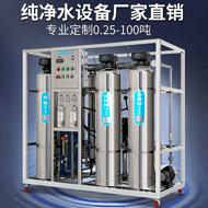 反渗透净水设备-软化水设备-0.25吨双级RO反渗透  纯水设备 抛光树脂 紫外线杀菌装置 大型净水设备 食品厂净水