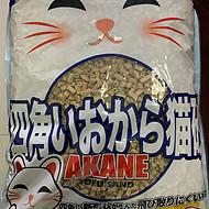 日本AKANE结团纸猫砂