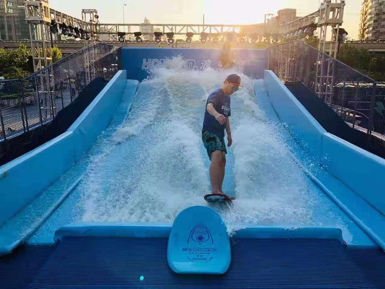 杭州室外固定式水上冲浪/景区双人冲浪/冲浪模拟器制作出售