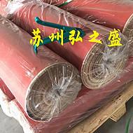 玻璃纤维涂胶布 红色硅橡胶布 风机软连接布 挡烟垂壁遮挡布