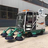 电动四轮垃圾桶清运车 物业240L8桶10桶液压尾板升降垃圾桶装运车