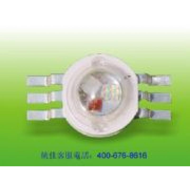 台湾统佳仿流明大功率led厂家灯珠RGB 色纯度高,一致性好,发光均匀,寿命长。