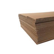 纸板厂家生产定做优质瓦楞牛卡纸板  高强芯双坑瓦楞纸板