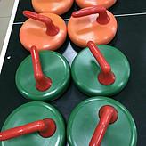 生产商 旱地冰壶球4KG防撞击,冰壶球16个一组特价多少钱?
