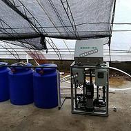 黑龙江农业经济学院温室葡萄施肥机滴灌安装图
