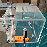 定制透明干燥箱 透明试验箱 透明氮气箱 透明亚克力试验箱定制 有机玻璃干燥箱定制