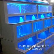 广州定做海鲜池公司,番禺区海鲜池定做设计,番禺哪里安装鱼池