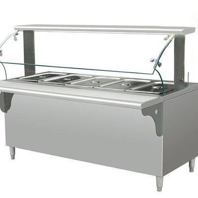 金佰特BWTW1800保温售饭台(带玻璃...